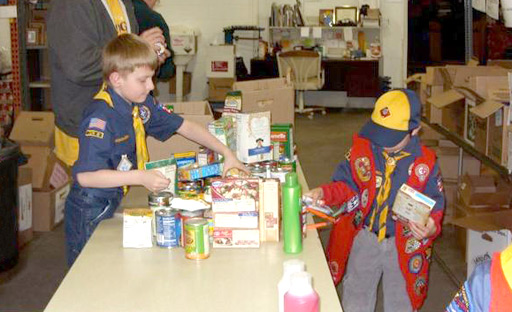 Boy Scout Volunteers