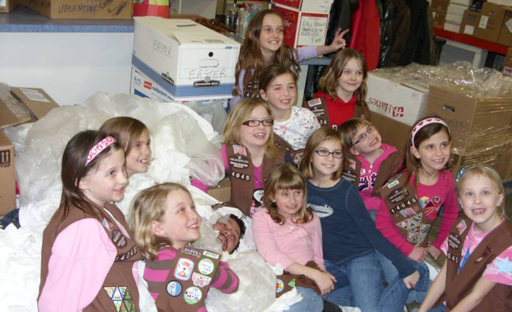 Girl Scout Volunteers
