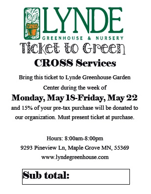 Ticket to Green May 18-22
