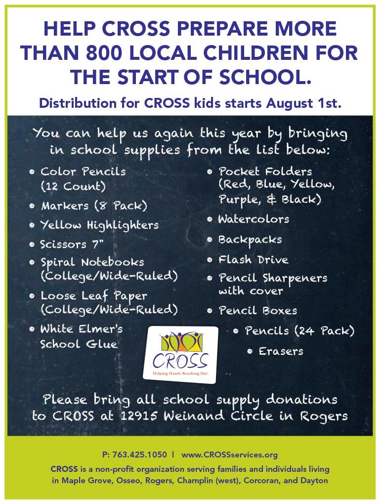 2016 CROSS School Supplies