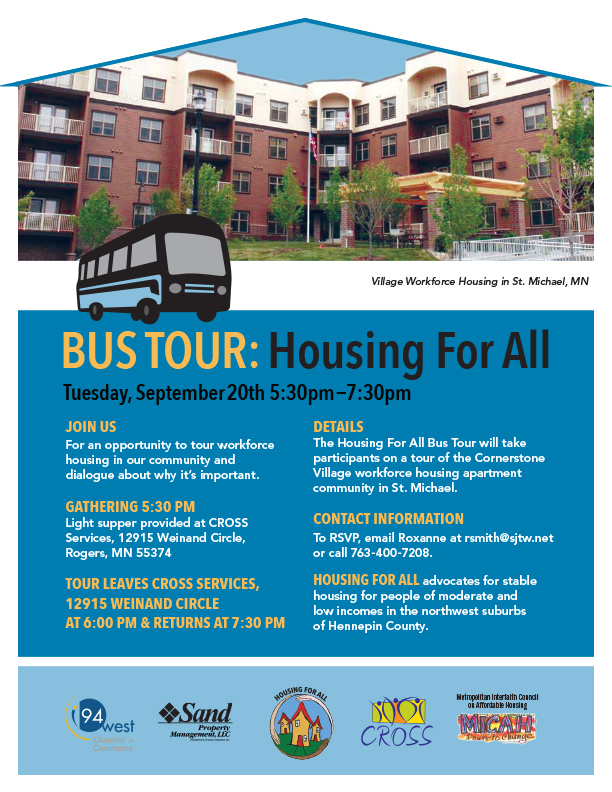 2016 Housing for all Bus Tour