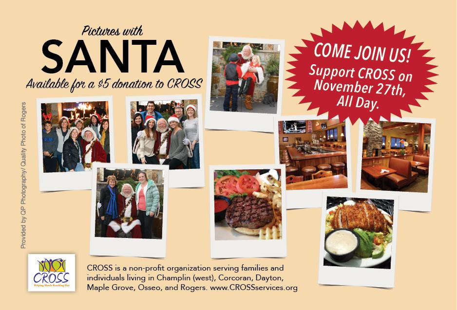 Pictures with Santa at Maynards Day - November 27th