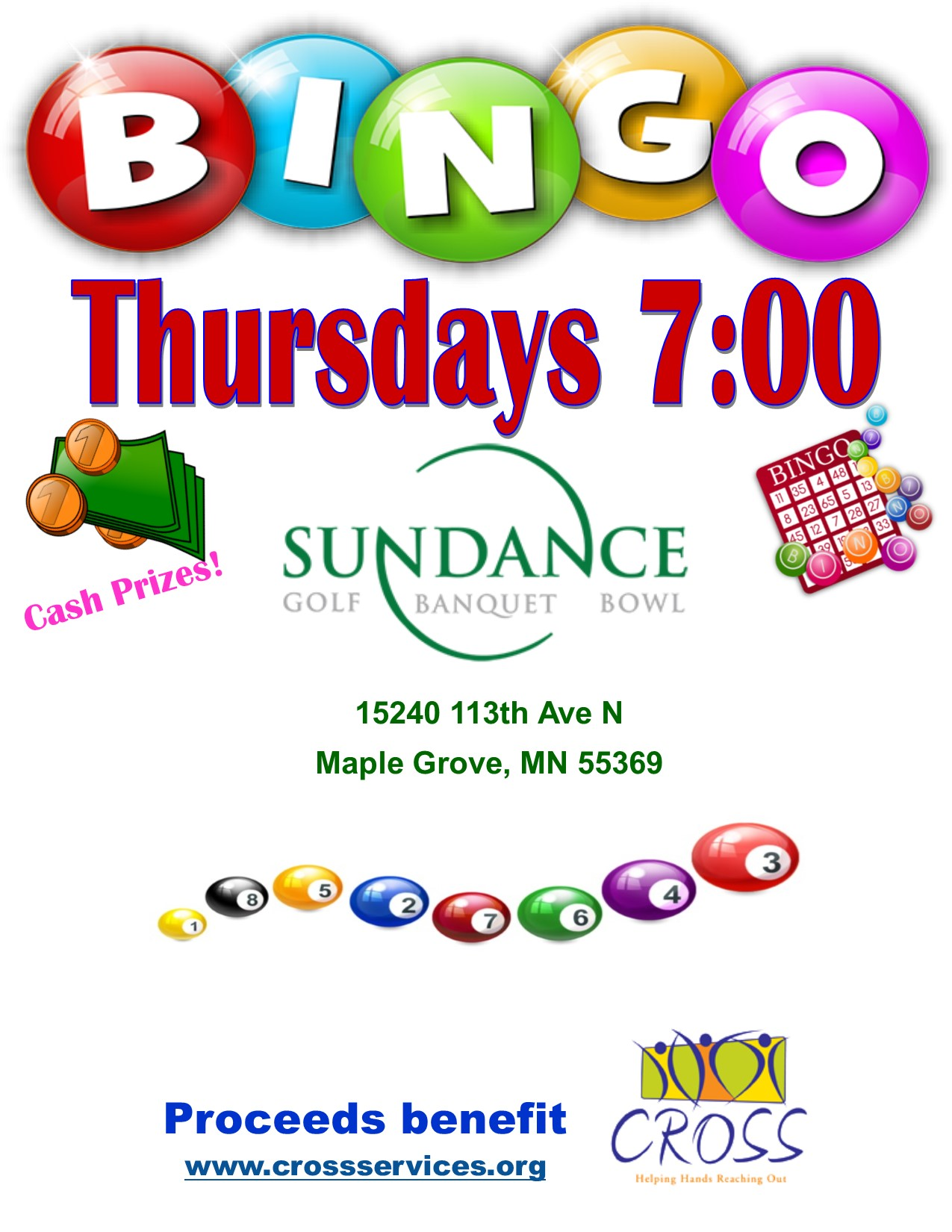 Bingo - Starting November 30, 2017